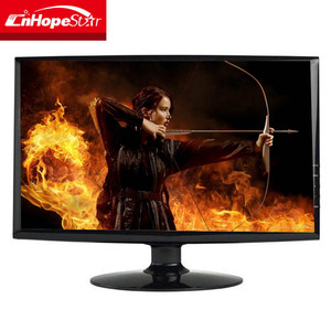 Black Widescreen 18.5 Inch Used Computer CPU LCD Monitor With HD