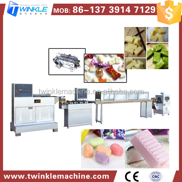 TKC500 FACTORY PRICE SOFT CANDY MAKING MACHINE PRODUCTION LINE