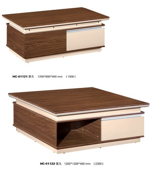 Modern Low Wooden Square Coffee Table For Office Product On Alibaba
