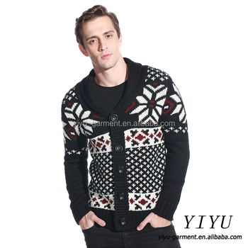 New style men snowflake knitted pattern aztec cardigan jacquard new style men snowflake knitted pattern aztec cardigan jacquard knitting sweater dt1010fo