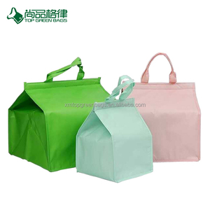 Custom high-grade non woven cake insulated keep beer cold storage bag