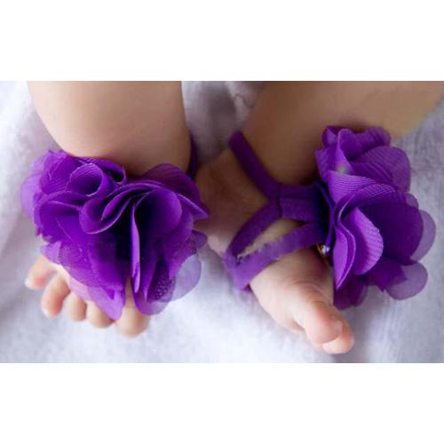 SCYL Newborn BABY Foot bands WAER Flower Decorated BABY Cotton Pram Barefoot Shoes Infant Toddler Socks
