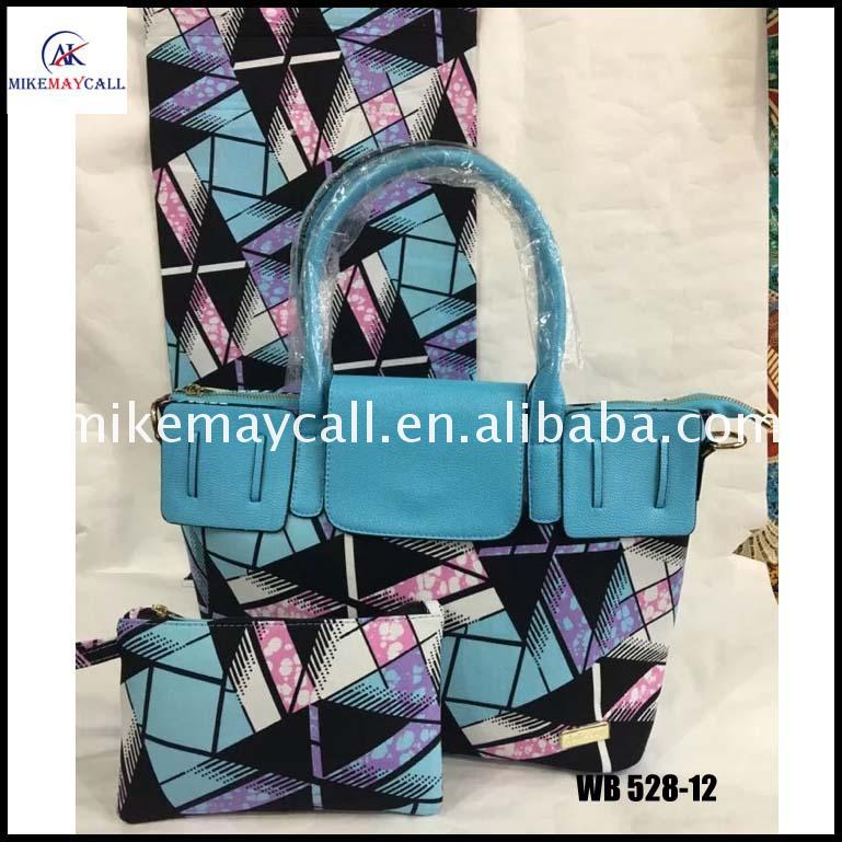 african wax printed french fabric fashion bags print bag alibaba supplier