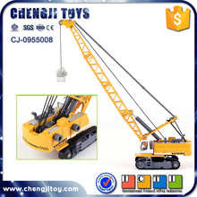 6pcs cable excavator toy metal truck for kids 1 87 scale diecast models