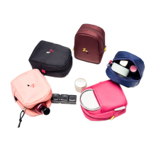 2019 Wholesale professional luxury zipper cosmetic bag (High) 저 (quality 숙 녀 패션 내구성 small cosmetic bag