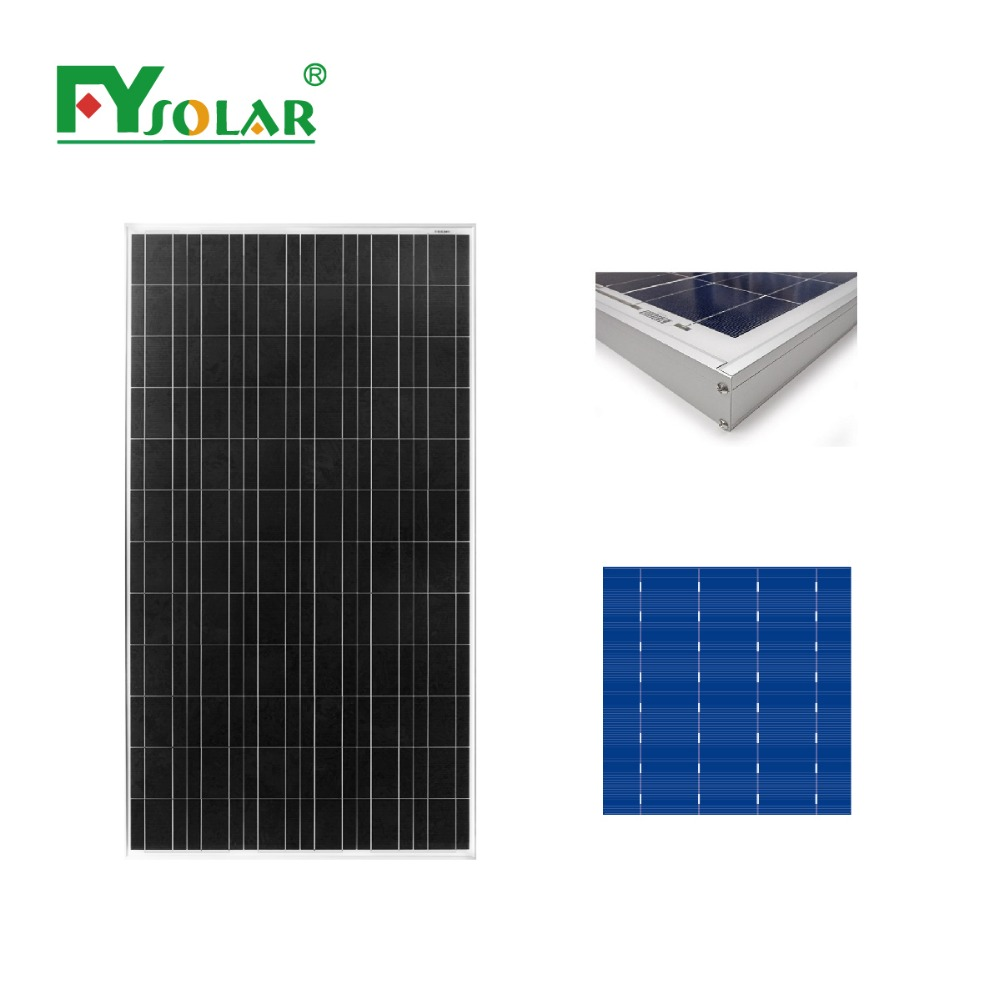 180w cheap solar panel from China factory ,poly solar panels 190w