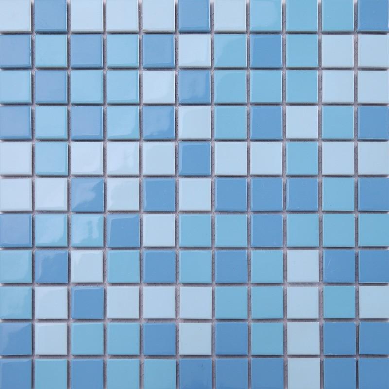 ljo jy-sw-01 장식 욕실 벽 모자이크 타일 도매 저렴한 파란색 ...
