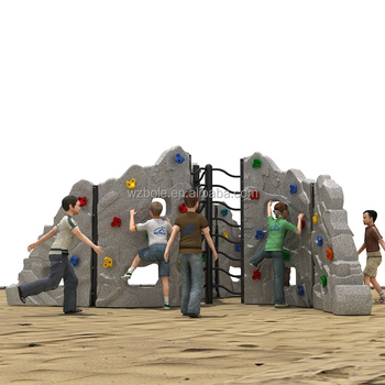 Backyard Equipment new product playground equipment rock climbing wall amusement park