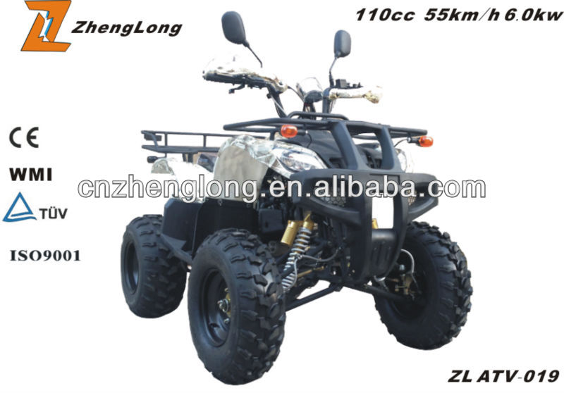 ECE certification zongshen atv
