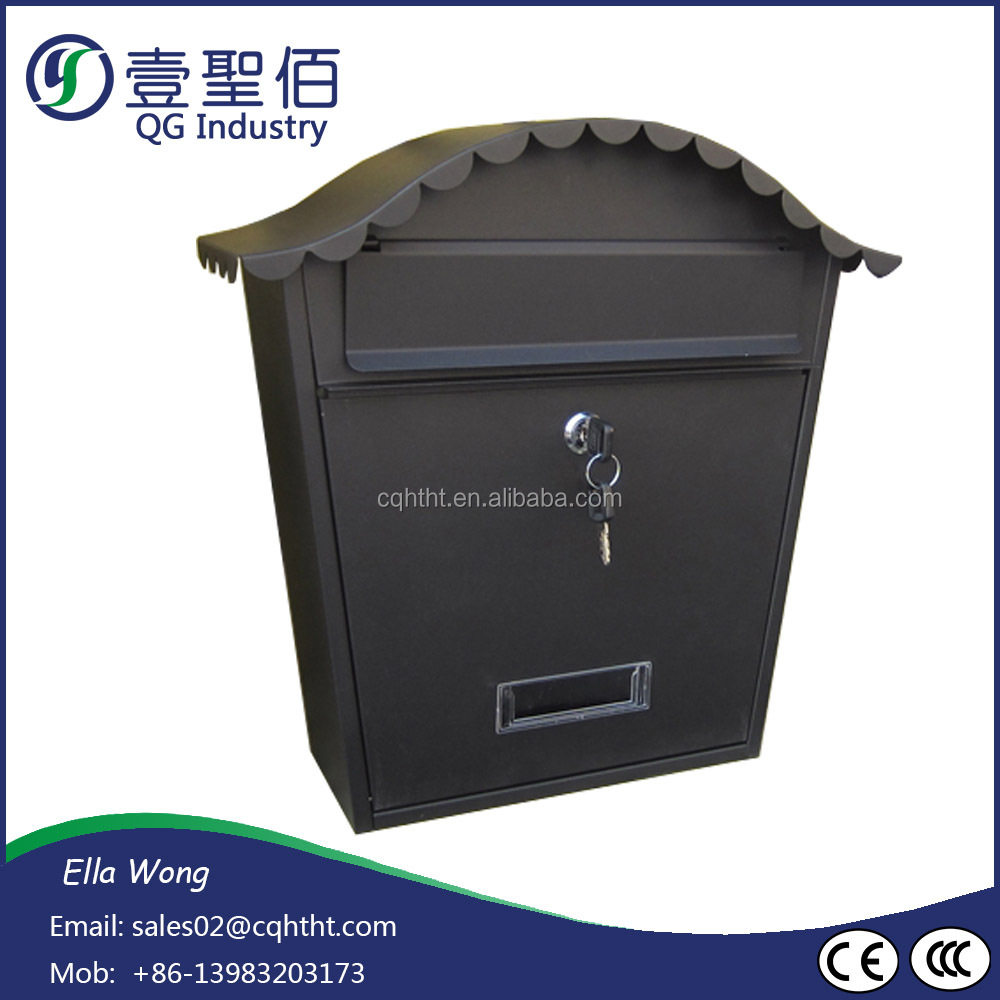 Stainless Steel Material and Wall Mounted Style wall mount residential mailboxes
