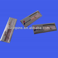 Buy custom company name lapel pin badge in China on Alibaba.com