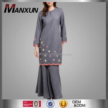 Traditional Baju Kurung Muslim Women Baju Kebaya Dress Islamic Clothing Malaysia Muslim Abaya View Traditional Baju Kurung Manxun Product Details