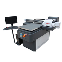 Low price latest flatbed uv printer a0