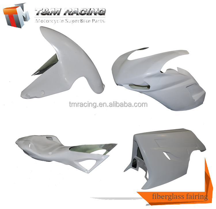 Cheaper Fairings For Motorcycle Fairing Kit ABS Plastic Materials Motorcycle Fairing Part For ducati 1098 848 1198 Afterma