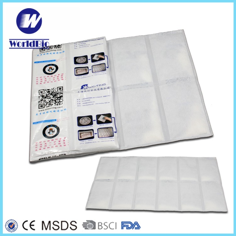 Flexible ice pack for food Blankets freezer Ice packs for lunch storage