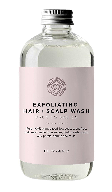 Hairprint - 100% Plant-Based/All Natural Exfoliating Hair + Scalp Wash (8 fl oz/240 ml)