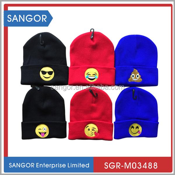 42c2988c58f88 2016 Top Fashion Winter Hat Emoji Beanie - Buy Emoji Beanie