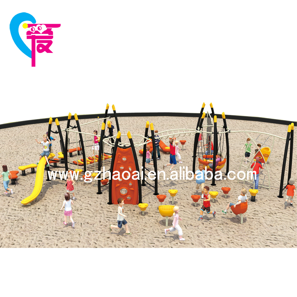 HAT-16 The Wholesaler Design For Children Amusement Park Outdoor Playground Equipment