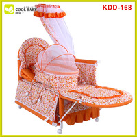 New model design baby crib , baby crib safety net
