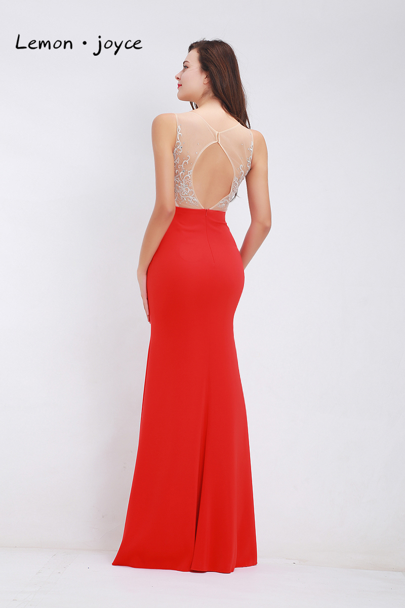 Detail Feedback Questions about Formal Red Evening Dresses Long 2019 ... 3e6933dcc5f4