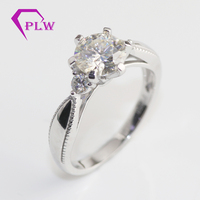 Hot saliing moissanite diamond wedding ring