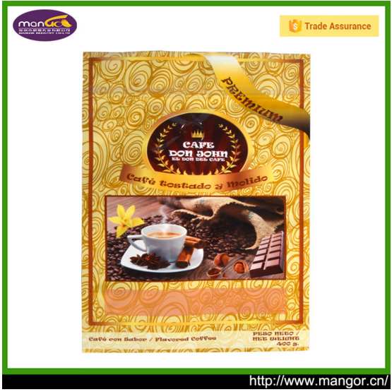 High performance to price ratio Foil Inner Stand Up Coffee Poly Bags Philippines With Zipper for food