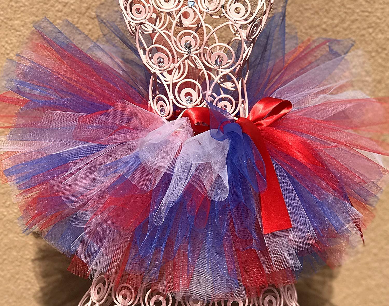 Girls Tutu Toddler Tutu USA Tutu Patriotic Tutu Baby Tutu Infant Tutu Birthday Tutu Poto Prop Tutu July 4 Tutu