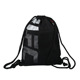 Custom plain promotion 300D polyester drawstring sporty bag for shoes