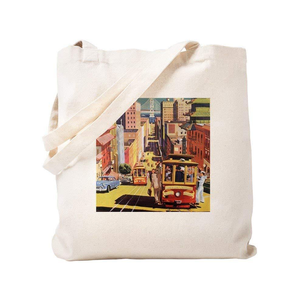35286a6bb9e6 Get Quotations · CafePress - Vintage San Francisco - Natural Canvas Tote Bag
