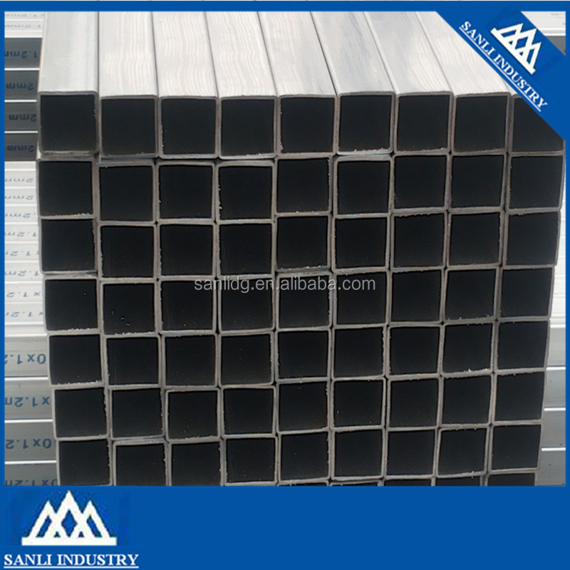 ASTM A53 ERW low carbon steel galvanized curtain wall pipe curtain pipe for glass wall