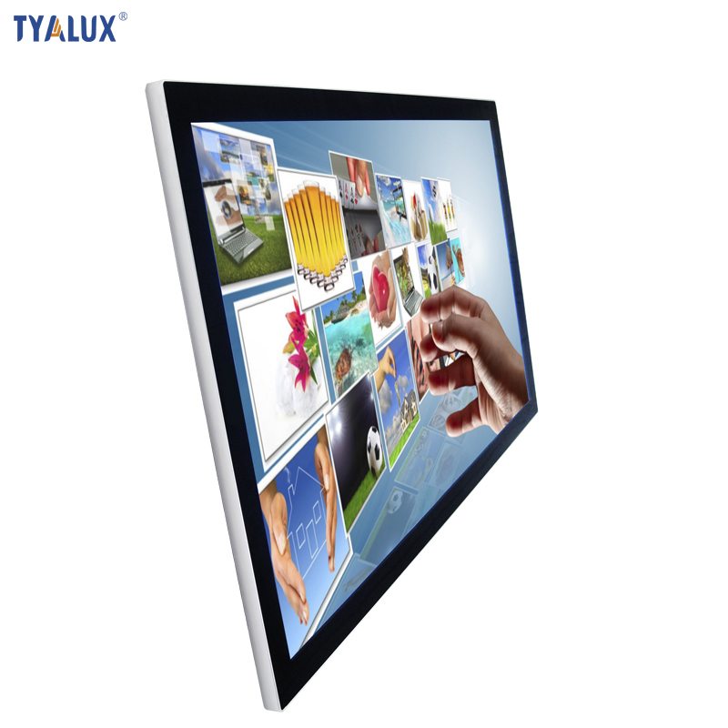 "Hot Sell Video Free Download All In One tablet PC 43"" LCD Media Player Totem"