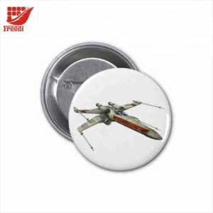 Logo Customized Round Metal Badge