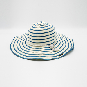 New Design Paper Straw White Bucket Hats Sun Floppy Straw Hat For Women