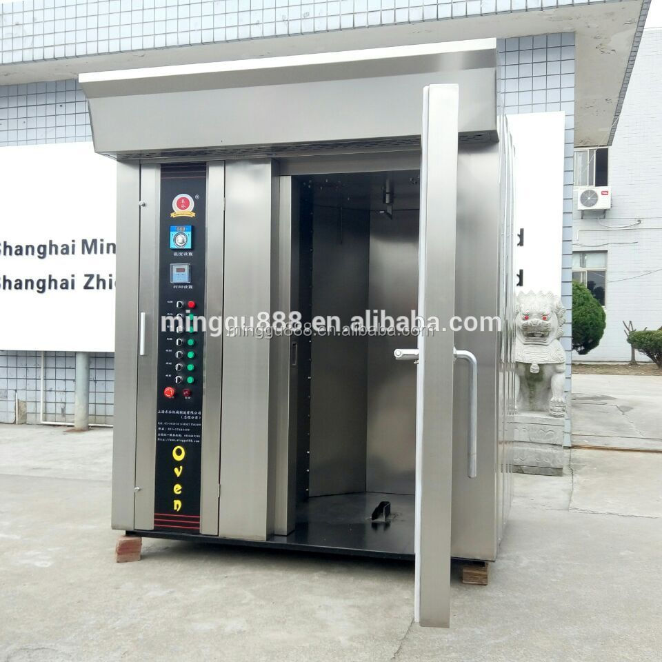 deck baking oven, commercial steam oven, double rack oven rotary oven 64 tray