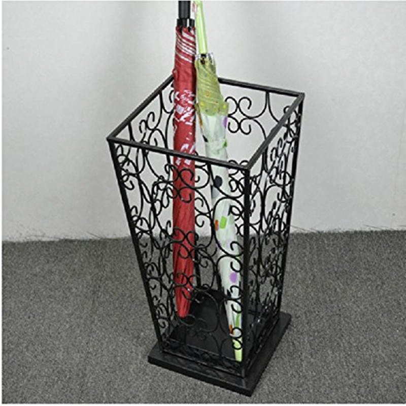 Handmade cheap metal display rack hot sale umbrella holder