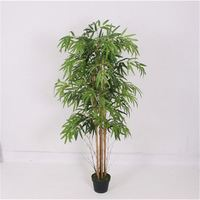 New coming good quality lively indoor & artificial bamboo tree s wall