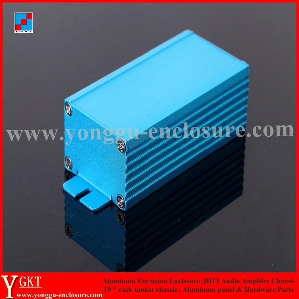 Caja de aluminio para instrumentos caja de aluminio para proyectos electr/ónicos para placa PCB DIY BE-TOOL