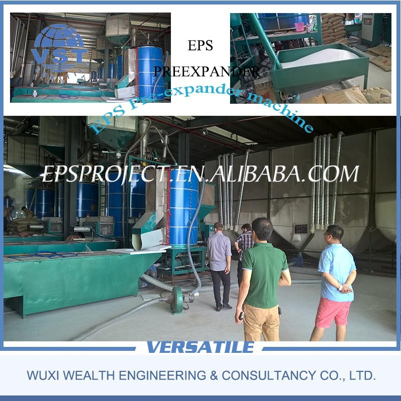 EPS pre-expander machine for foam bead