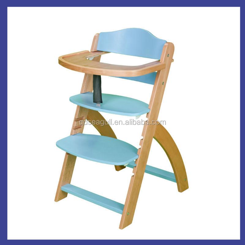 Regolabile schienale alto in legno di faggio soggiorno - Sedia ikea bambini ...