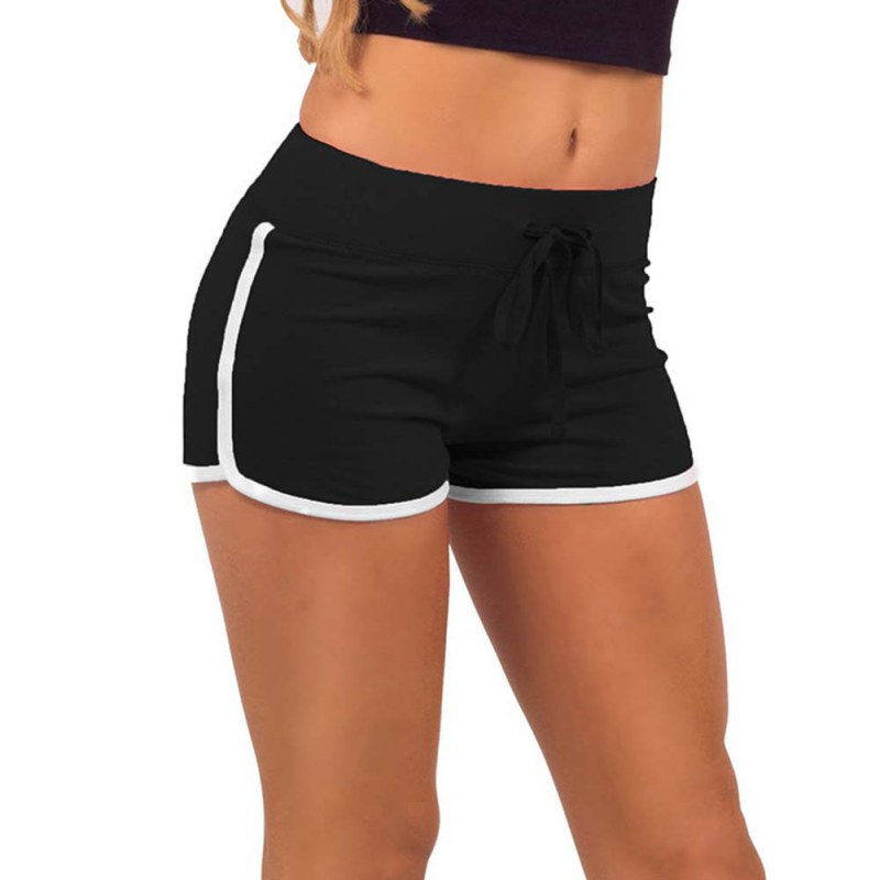 Promotions Women Sport Fitness Shorts Curve Sport Running Yoga For ... 45b3ecc5d1