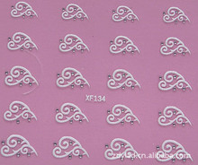 love design Water Transfer Nails Art Sticker decals lady women manicure tools Nail Wraps Decals wholesale