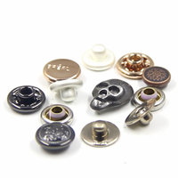 Custom Made Cute design Fashionable Metal Rivets with Logo
