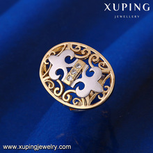 Personalized design new charm gold finger life ring for ladies