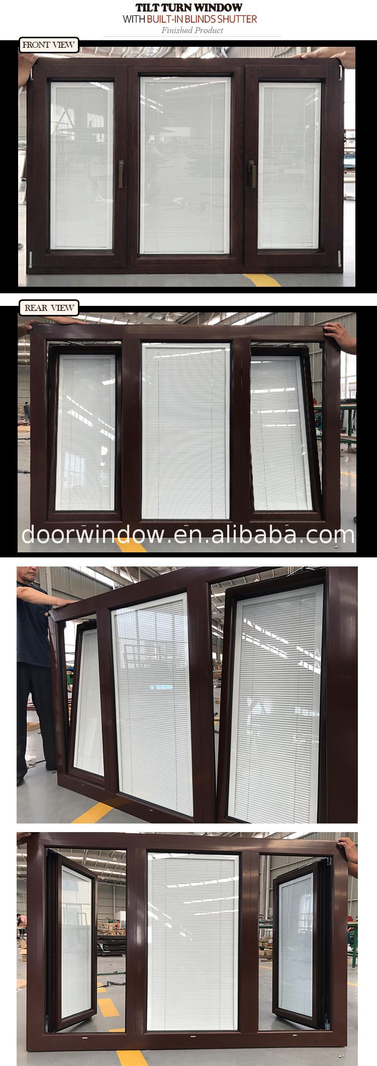 3 panel casement window with fixed panel