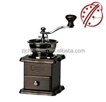 2017 best design conical burr Greek and commercial coffee grinder