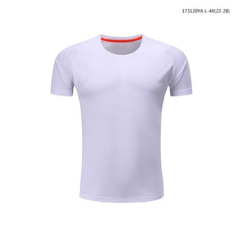 2017 polyester White football shirt sportswear for teenagers