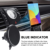shenzhen factory Magnetic QI Wireless Car Charger Mount, Neotrix Mobile Cell Phone Air Vent Magnet Car Cradle Charging Holder