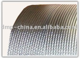 Linear Contact Galvanized Steel Wire Rope