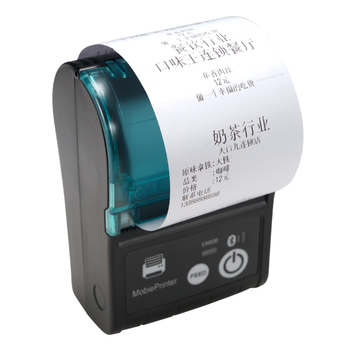 puty thermal receipt printer PT-58P 58mm paper roll portable bluetooth thermal receipt pos printer