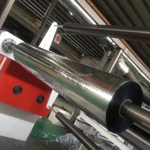 Aluminum metallized pet film laminating polyethylene insulation